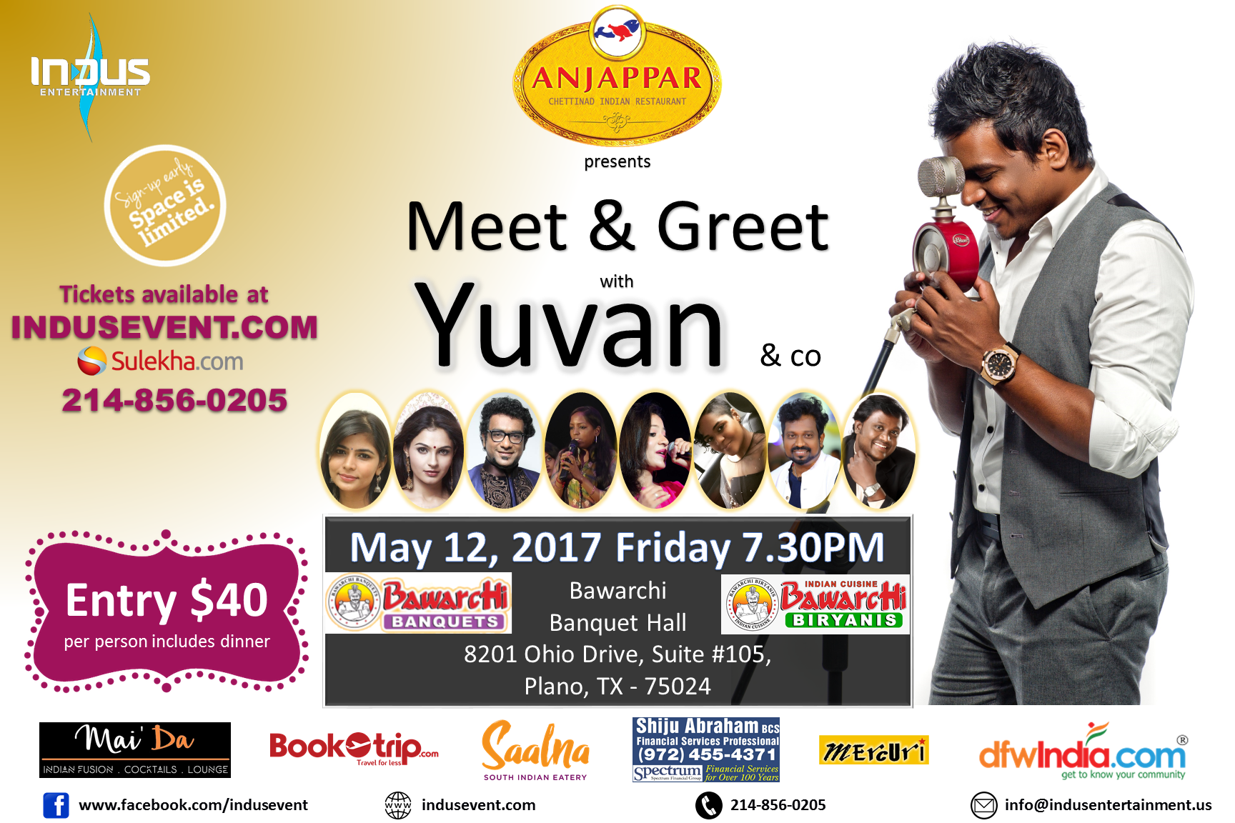 Meet And Greet Yuvan And His Team Dallas Indian Community